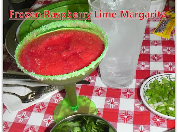 Frozen Raspberry Lime 'mock' Margaritas Recipe