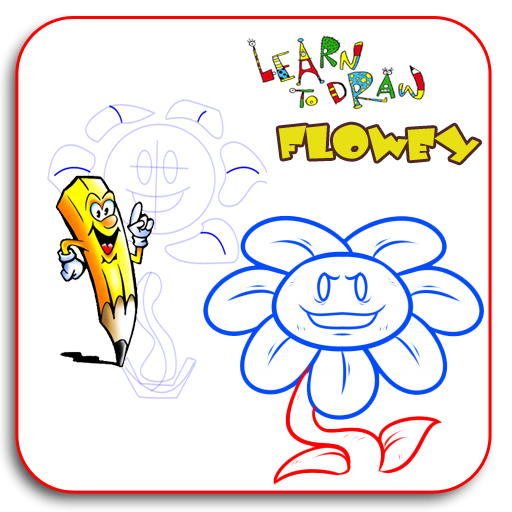 Learn To Draw FLOWEY