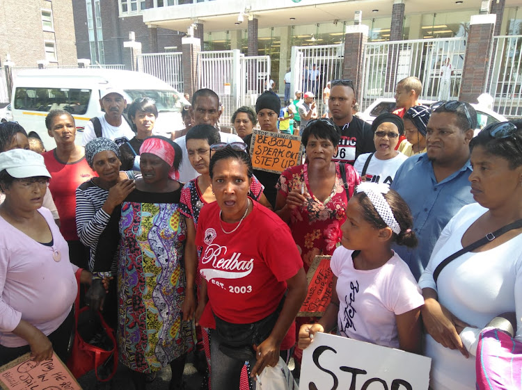 Pelican Park community members say the justice system has failed them.