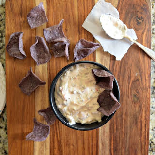 Yummy Slow Cooker Sausage Queso Dip.