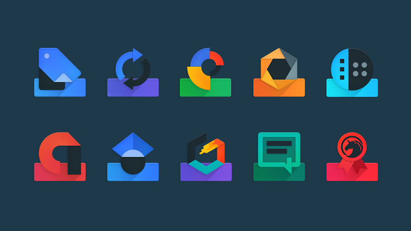 Ombre - Icon Pack Screenshot 1