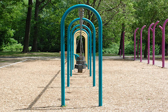 Photo: 35 ... Swing set in the Saddle Brook Park