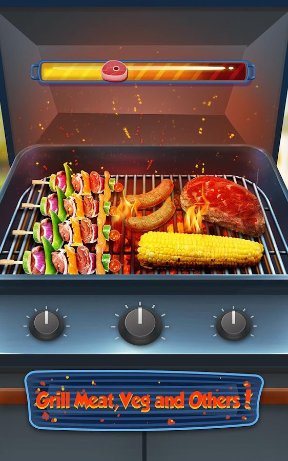 Bbq Kitchen Grill Cooking Game Android Apps On Google Play
