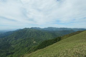 山頂から鈴鹿南部