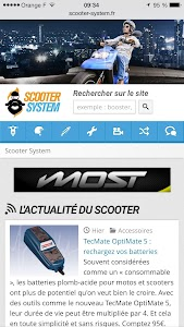 Scooter System screenshot 0