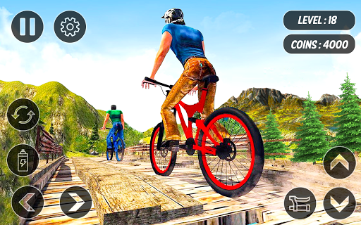 BMX Mountain Climb – MTB Hill & Bicycle Racing - screenshot