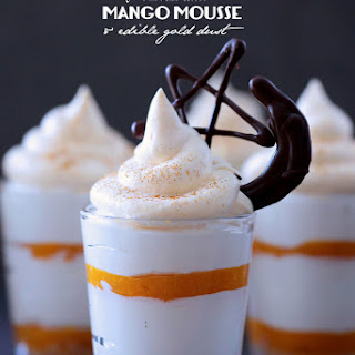 Ramadan Mubarak and Something Sweet to Break your Fasts • Mango Cheesecake topped with Mango Mousse