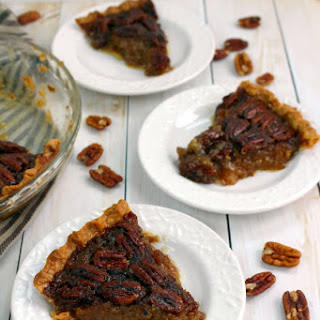 Classic Pecan Pie with Vanilla Bean Whipped Cream {DRAFT ONLY}