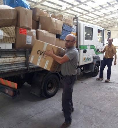 """""""Lamego Esperança"""" recolhe toneladas de bens para vítimas de incêndios"""
