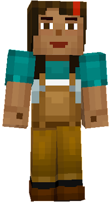 minecraft story mode jesse girl