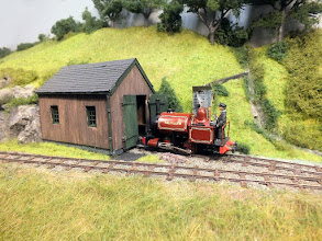 """Photo: 115 The original Talyllyn locomotive, """"Talyllyn"""" was built by Fletcher Jennings as an open cab 0-4-0, which Tim Tincknell has created in model form by converting the Malcolm Savage """"modern image"""" kit of the locomotive which comes as the loco appears today, as an 0-4-2ST with closed cab ."""