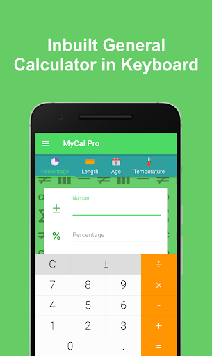 MyCal Pro - All in One Calculator & Converter ss3