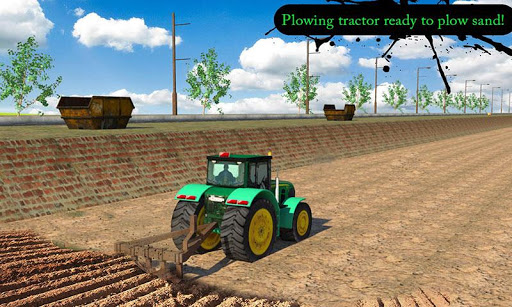 Sand Tractor: Canal De-silting
