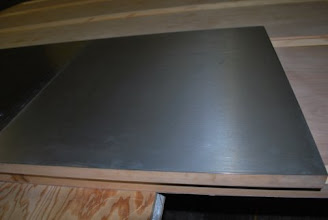 Photo: Sing Core's Aluminum clad honeycomb panel with solid wood edgings