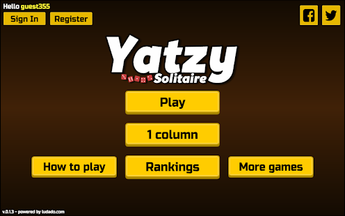 Yatzy Solitaire Lite- screenshot thumbnail