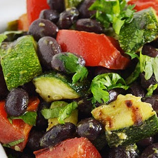 Black Bean Vegetable Salad.