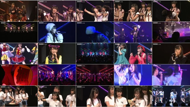 190909 (1080p) HKT48 研究生「脳内パラダイス」公演 上島楓 生誕祭 DMM HD