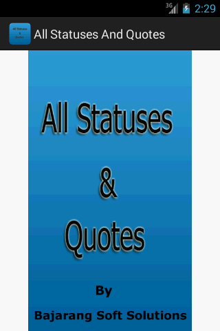 All Status And Quotes