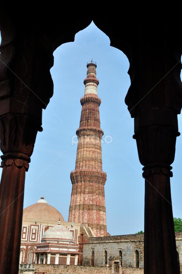 by Manoj Gupta - Buildings & Architecture Architectural Detail ( monuments, manoj photography, new delhi, pwcdetails, tourism, ruins, architectural details, india, travel, qutub complex, delhi )