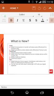 OfficeSuite 8 Pro + PDF - screenshot thumbnail