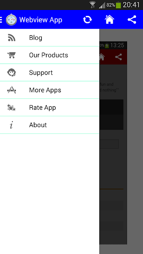 Demo Android WebView App