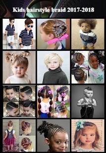 Dětské účesy pletené - náhled