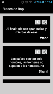 Frases de rap apps on google play screenshot image altavistaventures Choice Image