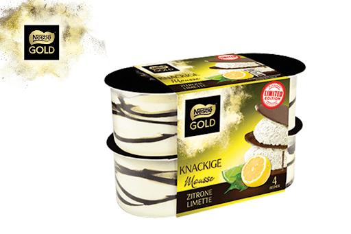 Bild für Cashback-Angebot: Nestlé Gold Mousse Zitrone Limette - Nestle