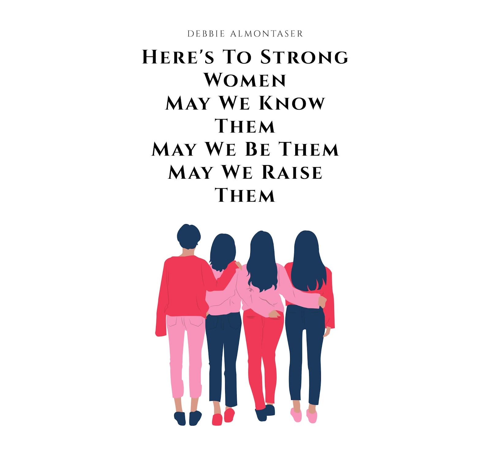 Strong women build each other up. We have examples like Ilhan Omar and Rashida Tlaib who are standing up equal rights of miniorities in America. Trump's racist twitter rants confirm the foundations of Leading While Muslim.