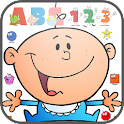 learn number alphabet shapes icon