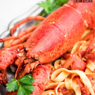 Lobster Pasta With Cherry Tomatoes