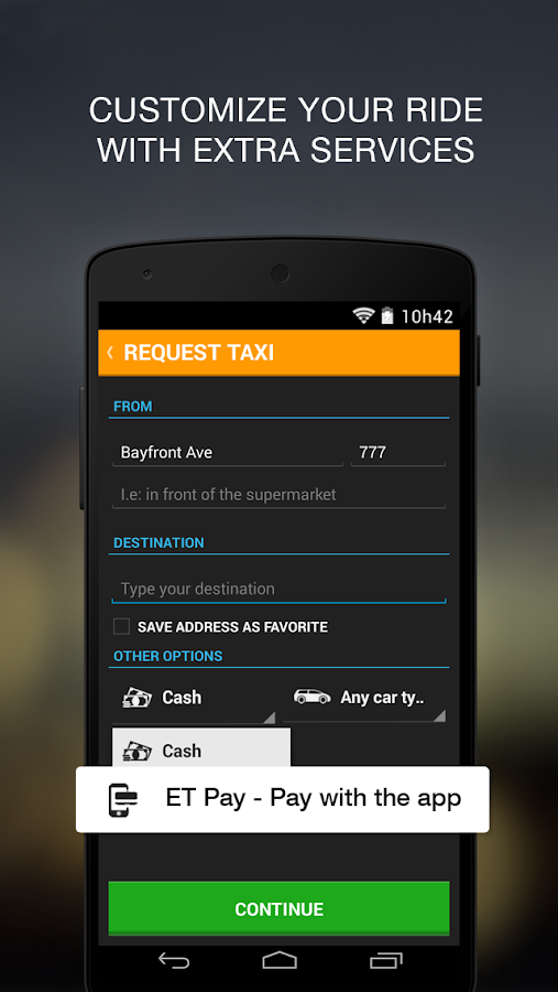 Easy Taxi - Taxi in 3 minutes - screenshot