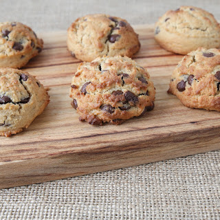 Chewy Coconut-Chocolate Chip Cookies.