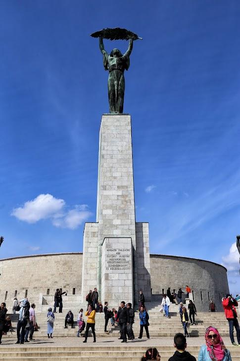 Pomnik Wolności, Cytadela, Budapeszt