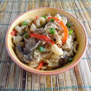 Crock Pot - Spicy Cajun Chicken Pasta.