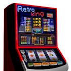 Retro King slot machine icon