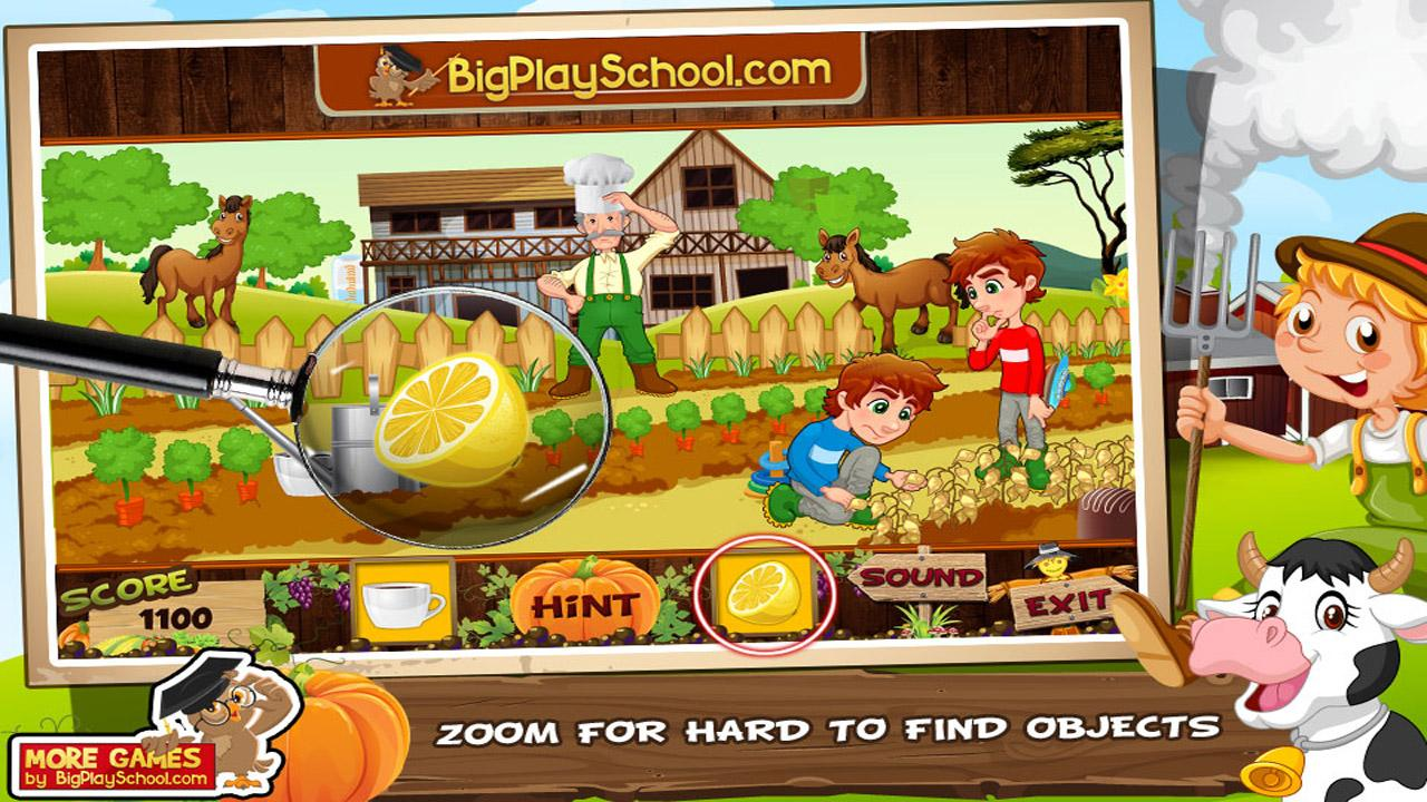 36 Free New Hidden Objects Games Free Simple Farm- screenshot