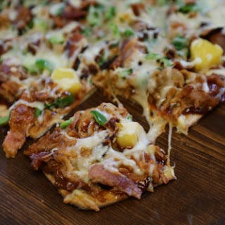 Pulled Pork Pizza.