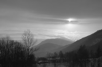 Photo: A Sampeyre, in una mattina d'inverno