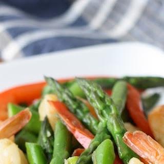 Thai-style Asparagus & Shrimp Stir-Fry