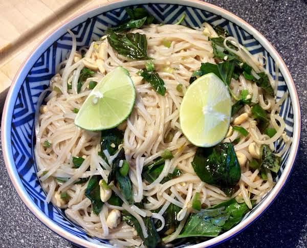 Thai Rice Noodles Recipe