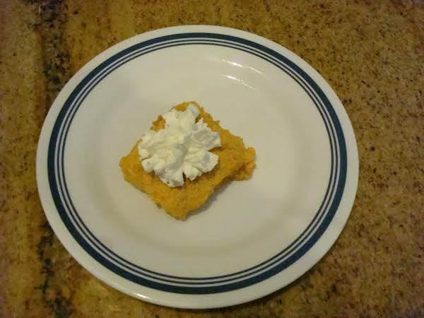 Pumpkin Fluff Dessert Recipe
