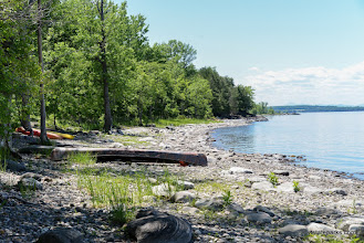 Photo: Waterfront at Burton Island State Park by Raven Schwan-Noble