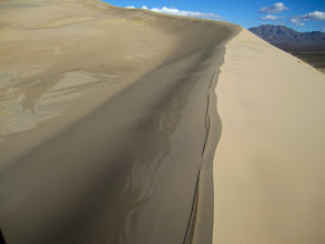 """Photo: Easternmost dune. This is not the """"official"""" trail and this dune is not as traveled as the """"main"""" dune. Note the pristine state of the ridge."""