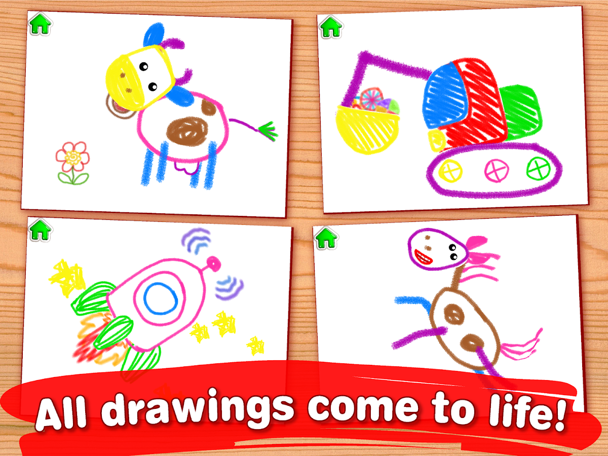 drawing for kids coloring children games toddlers screenshot - Drawing For Preschoolers