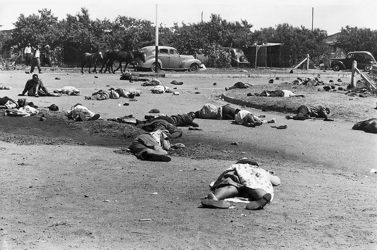 Sharpeville was horrific. Let's not shroud it in euphemism