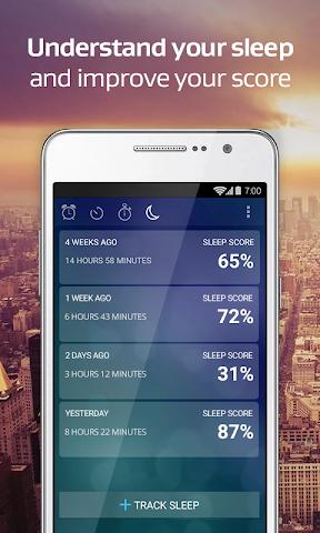android Alarm Clock Xtreme + Sleep Screenshot 0