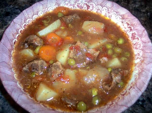 Granny's Five Hour Beef Stew Recipe