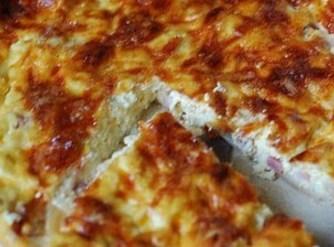 Easy Cheesy Ham Pie Recipe