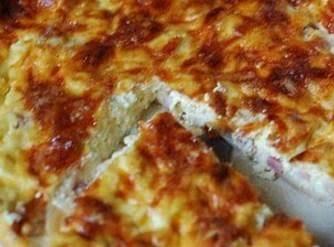 Easy Cheesy Ham Pie